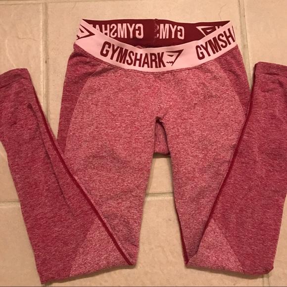 c0e90a9f92ba3 Gymshark Flex Leggings Beet Marl Chalk Pink S. M_5b19fb5b194dad339800be8a